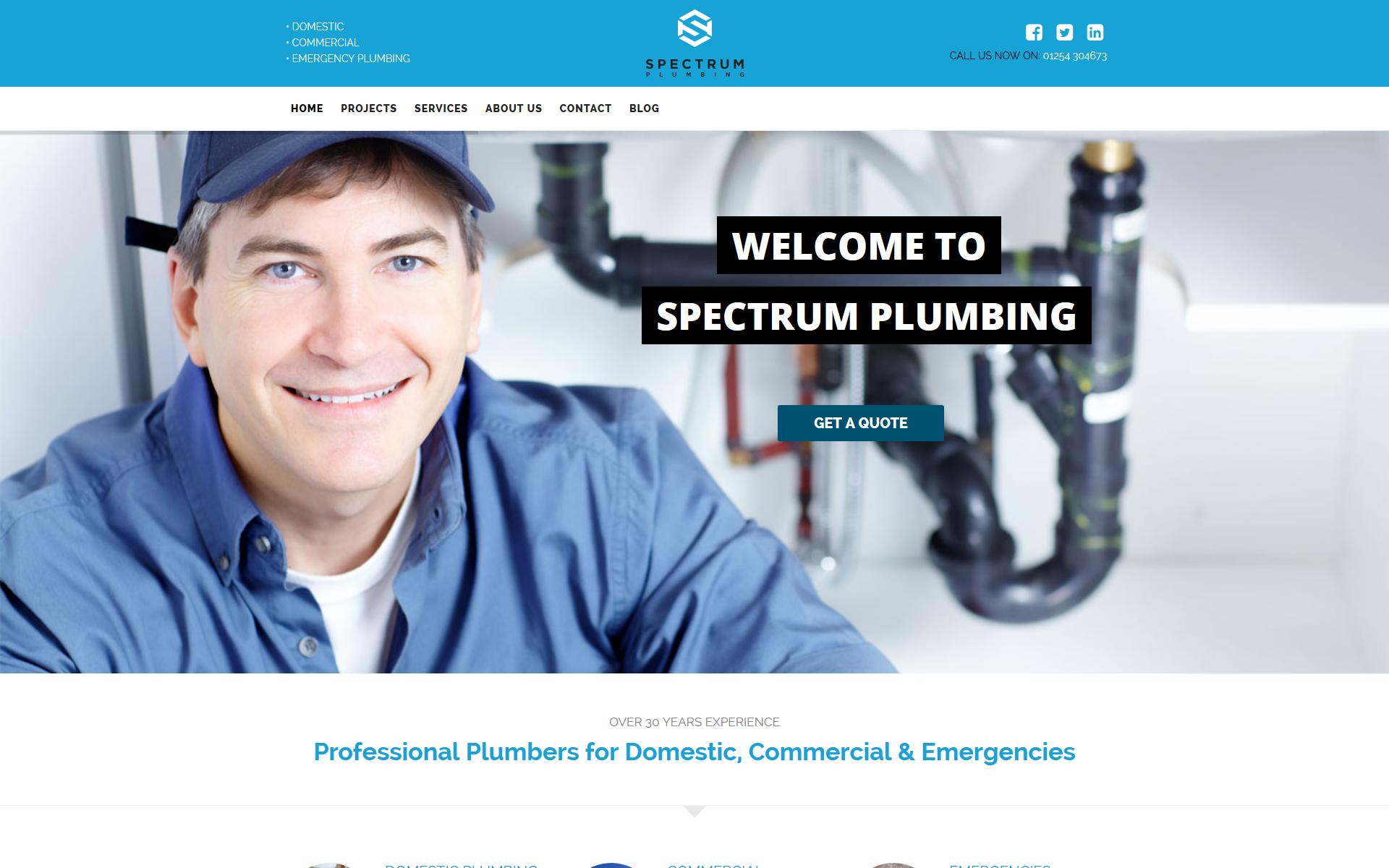 sp-plumbing-home-screen