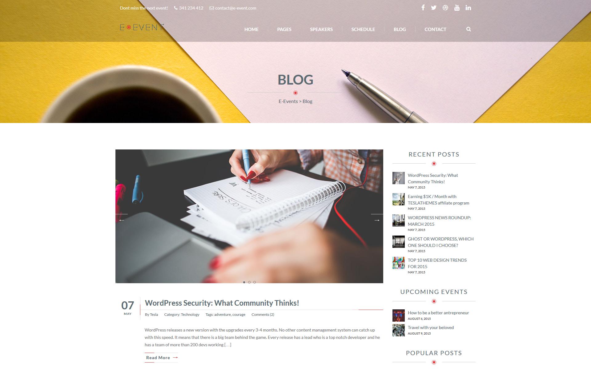 E-Events Blog