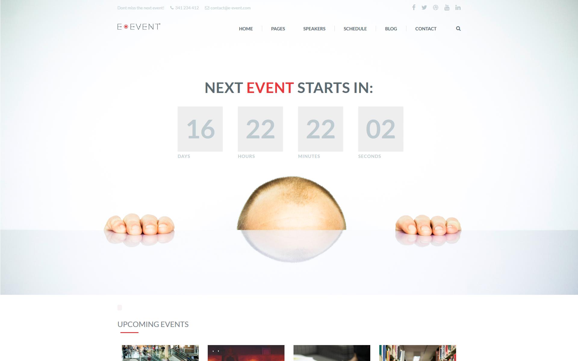 E-Events Home