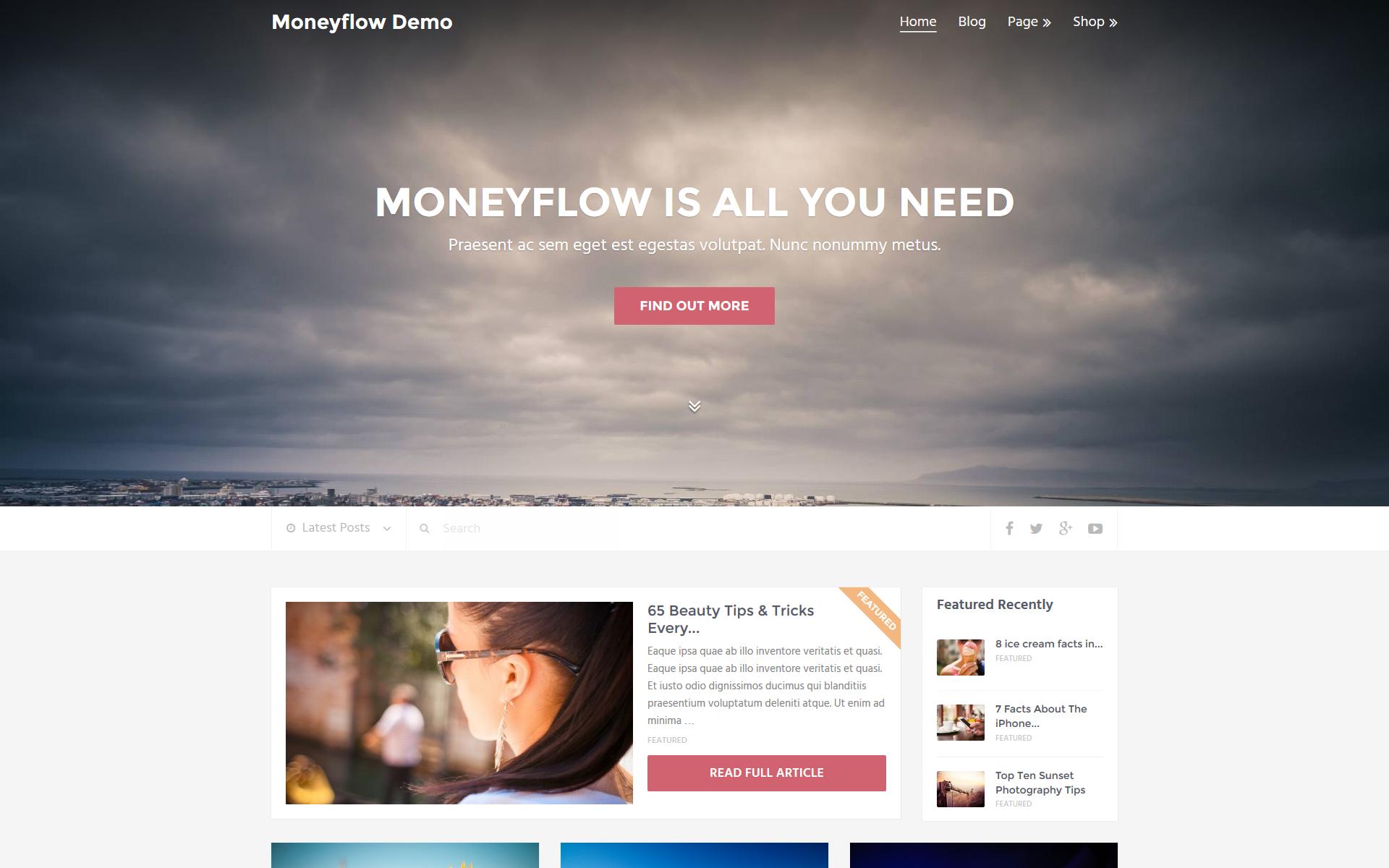 moneyflow home
