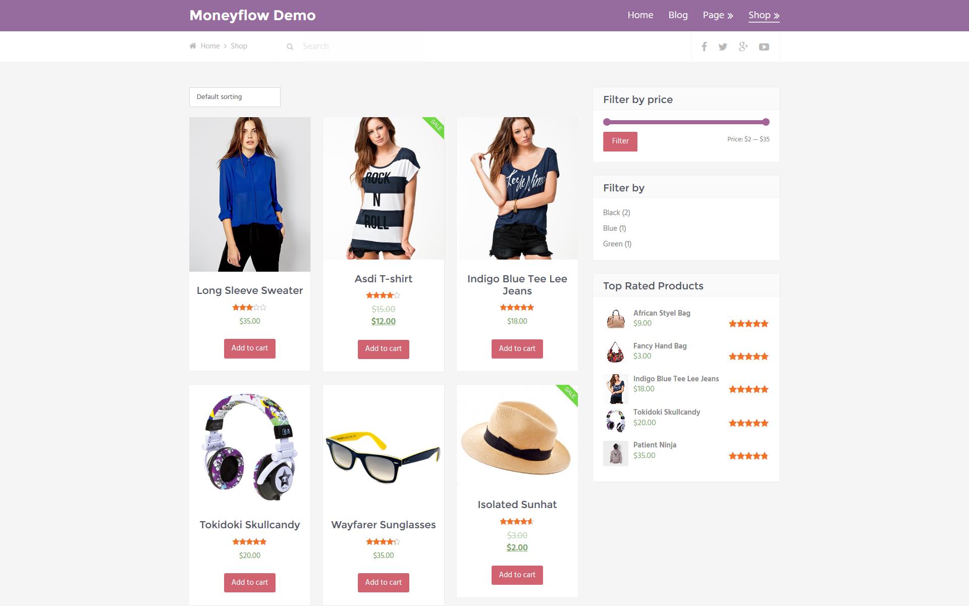 moneyflow shop