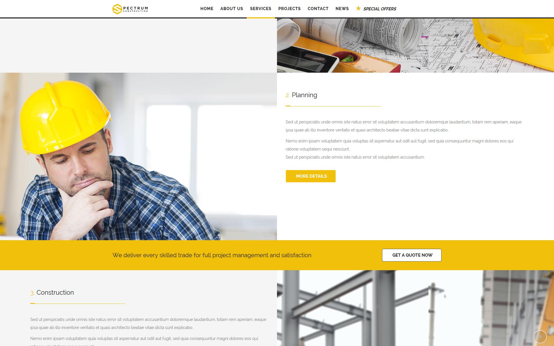 sp-construction services