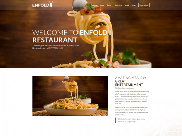 <span>Enfold – Restaurant</span><i>→</i>