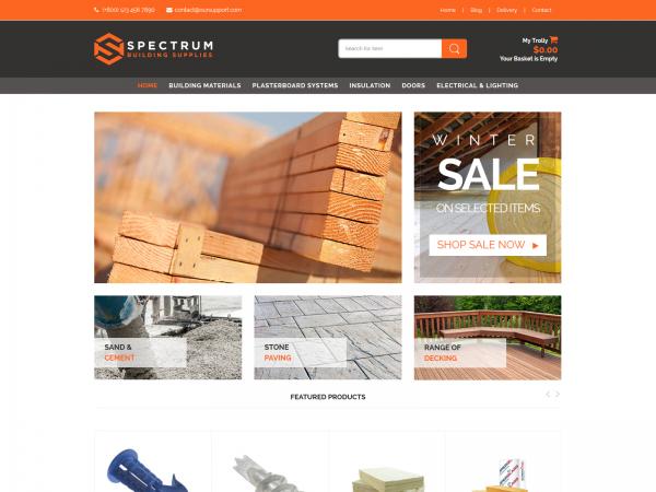 <span>Spectrum – Supplies Shop</span><i>→</i>