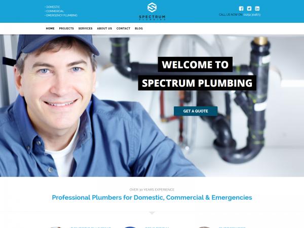 <span>Spectrum – Plumbing</span><i>→</i>