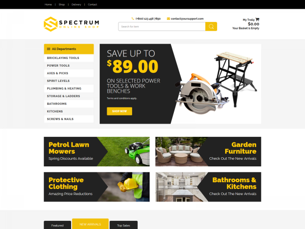 <span>Spectrum – Hardware Shop</span><i>→</i>